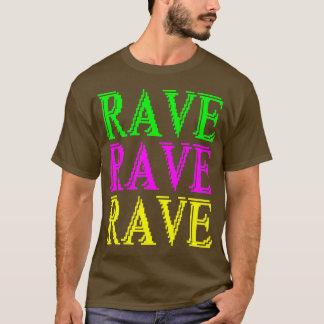 RAVE RAVE RAVE DIGITAL BLUR T-SHIRT
