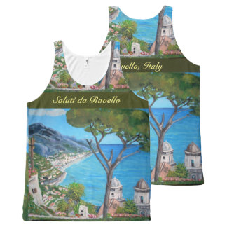 Ravello - All-Over Printed Unisex Tank