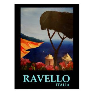 Ravello Salerno Italy View of Amalfi Coast Postcard