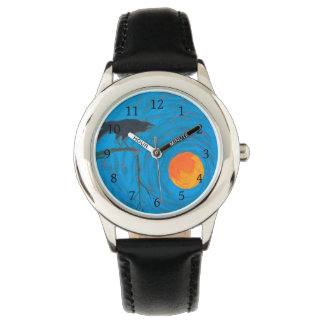 Raven and Full Moon Watch