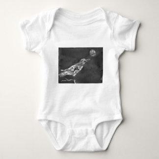 Raven and Moon Baby Bodysuit