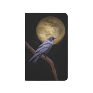 Raven and Moon Manifestation Journal or Magic Jour