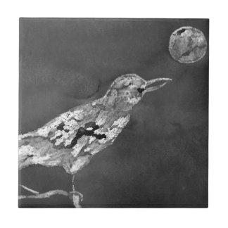 Raven and Moon Tile