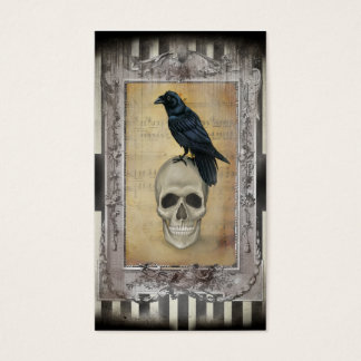 Raven and Skull Business Card