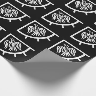 Raven Banner Viking Flag Wrapping Paper