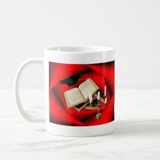 Raven, Book & Candle Coffee Mugs