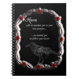 Raven Calling Notebook