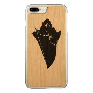 Raven Carved iPhone 8 Plus/7 Plus Case