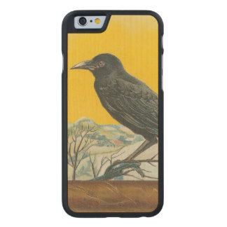 Raven Carved® Maple iPhone 6 Slim Case