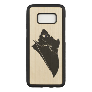 Raven Carved Samsung Galaxy S8 Case