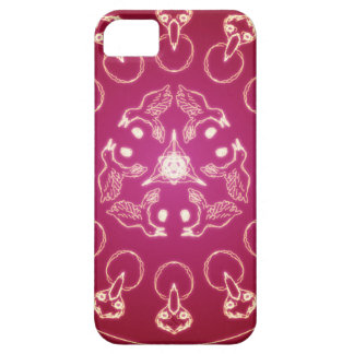 Raven Crow Bird Pentagram Wicca Pagan Spiral Self- iPhone 5 Cover