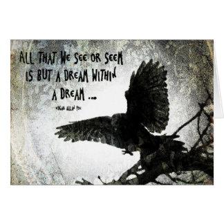 Raven Dream Card