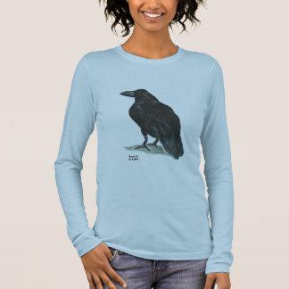 Raven II w/Poe quote Long Sleeve T-Shirt