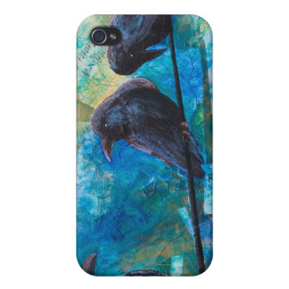 Raven iPhone Case Covers For iPhone 4