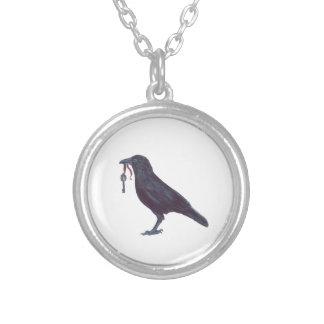 Raven & Key Necklace