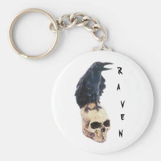 Raven Key Ring