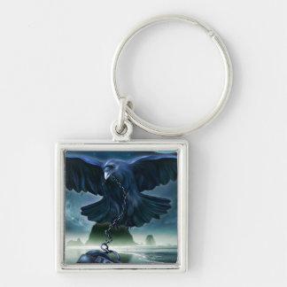 Raven Love Keychain