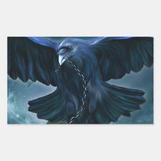 Raven Love Sticker  Rectangular Sticker