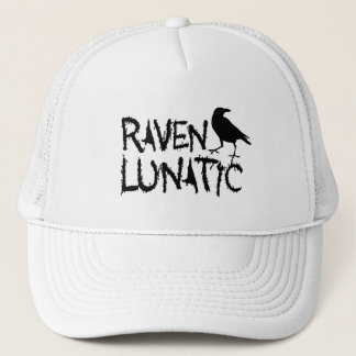 Raven Lunatic Black Crow Trucker Hat
