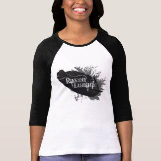 Raven Lunatic Fun Bird Lovers Quote T-Shirt