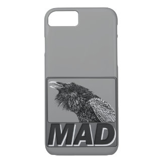 Raven Mad Phone Case