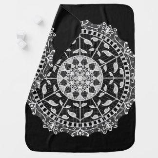 Raven Mandala Baby Blanket