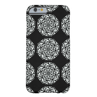 Raven Mandala Barely There iPhone 6 Case