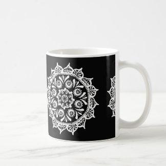 Raven Mandala Coffee Mug