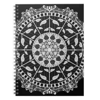 Raven Mandala Notebook