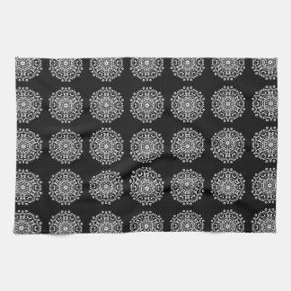 Raven Mandala Tea Towel