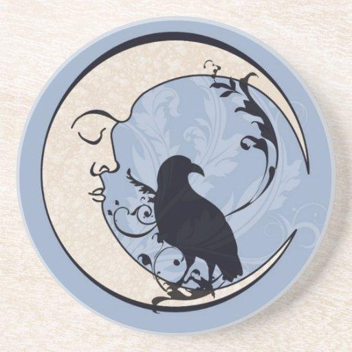 Raven Moon Coaster