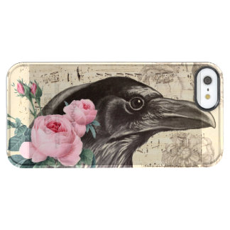 Raven Music Clear iPhone SE/5/5s Case