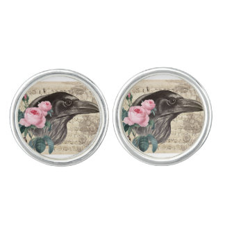 Raven Music Cuff Links