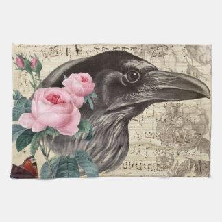 Raven Music Tea Towel