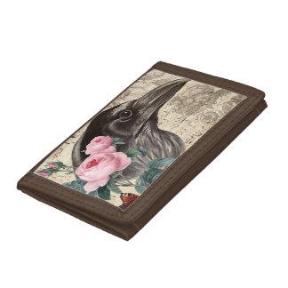Raven Music Tri-fold Wallet