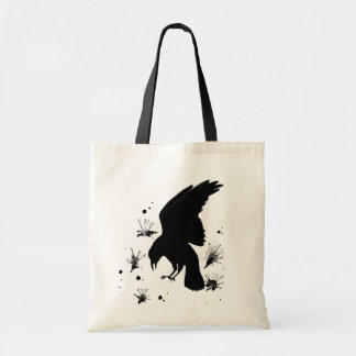 Raven Nevermore Budget Tote Bag