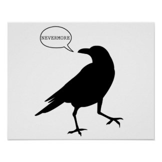 Raven Nevermore Poster