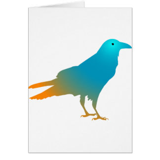 Raven of color card