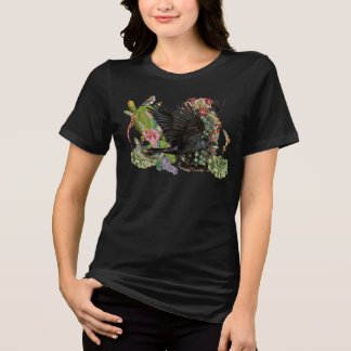 Raven of Fortune Spirit Animal T-Shirt