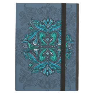 Raven of mirrors, dreams, bohemian, shaman cover for iPad air