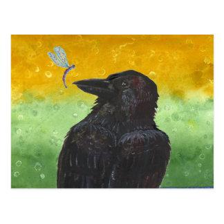 Raven Ponders Postcard