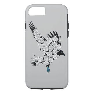 Raven & Roses Tattoo Illustration iPhone 6 iPhone 7 Case