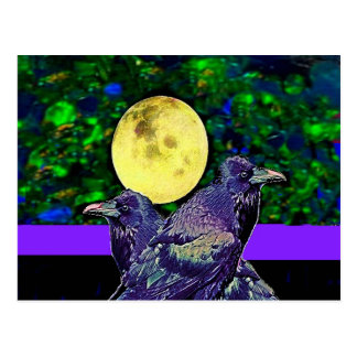 Raven s Moon Magic Gifts By Sharles Postcard
