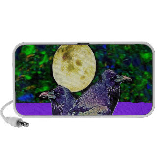 Raven s Moon Magic Gifts By Sharles Mini Speaker