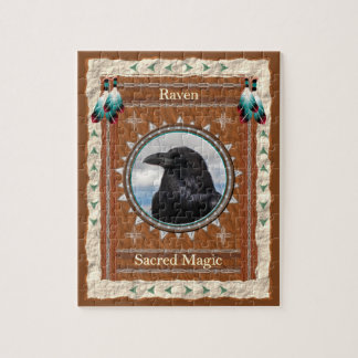 Raven  -Sacred Magic-  Jigsaw Puzzle w/ Gift Box