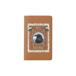 Raven  -Sacred Magic- Notebook Moleskin Cover