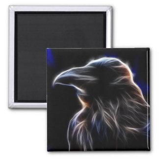 Raven Silhouette Fridge Magnets