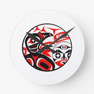 Raven Song Round Clock