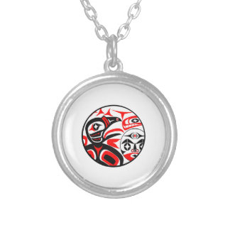 Raven Song Silver Plated Necklace