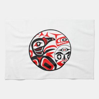 Raven Song Tea Towel